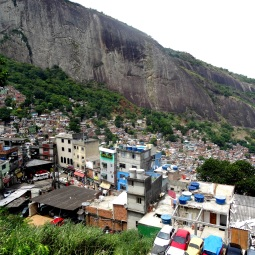 Rochinha favela from the top