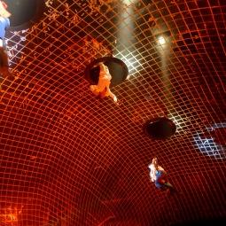 The huge parachute