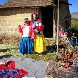 15. Uros Islands, Floating manmade Islands, Lake Titcaca, Peru