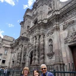 Outside La Compañia church