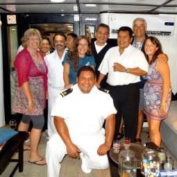 The crew of the Monserrat