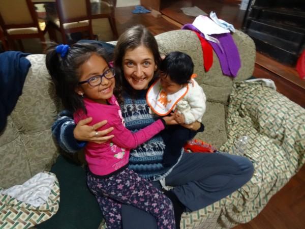 Marife and Renzo, Eli and Neto's children