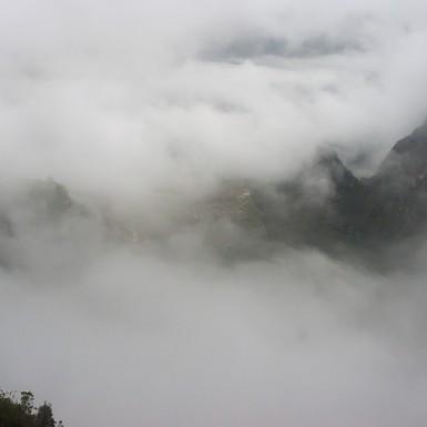 Glimpse of Machu Picchu