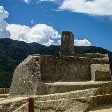 Machu Picchu's sun dial
