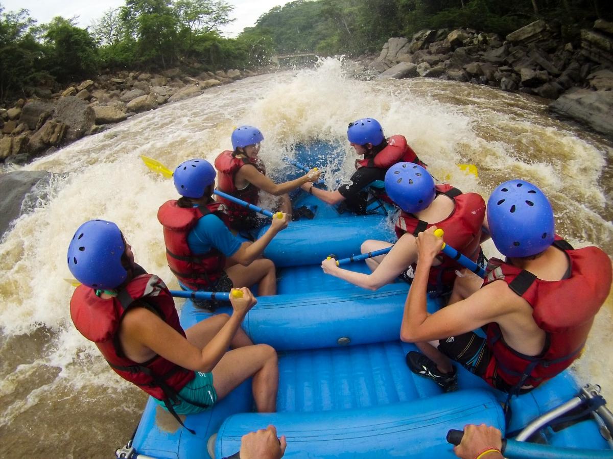 Going into Rapids