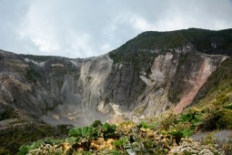 The main crater