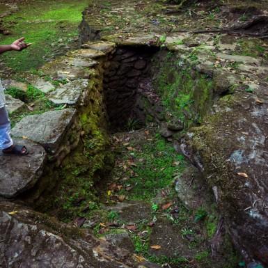 The shaman's transport pit