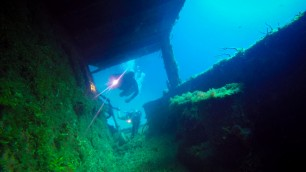 Exploring the stern